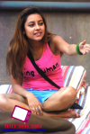 Exclusive Snap From Bigg Boss House: Asif Gift 'Being Human' T-shirts In The House, Day-12.