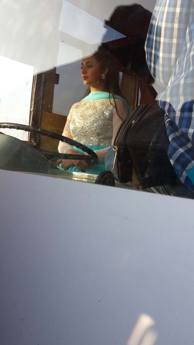 When Divyanka Tripathi drove a bus!